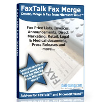FaxTalk Fax Merge by GetFaxing